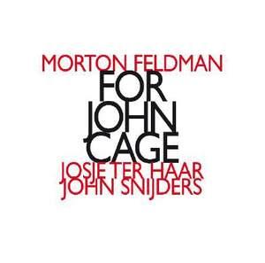 Feldman, M: For John Cage