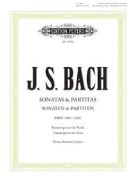 Bach, JS: 6 Solo Sonatas and Partitas for Violin BWV 1001–1006, Edition for Solo Viola