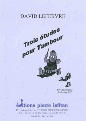 Trois Etudes Pour Tambour