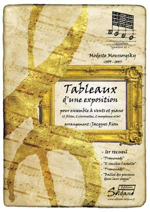 Modest Mussorgsky: Tableaux D'Une Exposition - 1Er Recueil