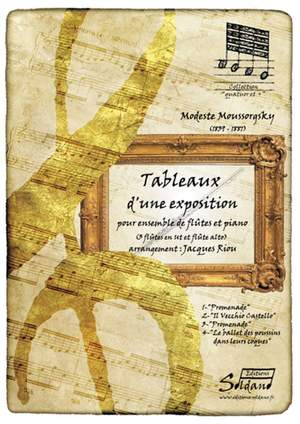 Modest Mussorgsky: Tableaux D'Une Exposition