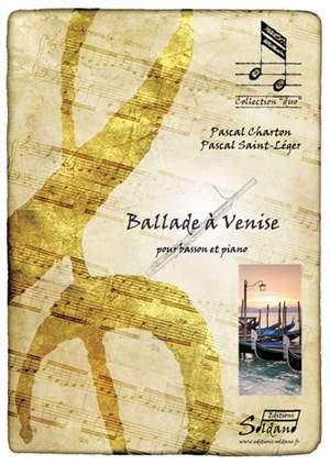 Pascal Chatron_Pascal Saint-Leger: Ballade a Venise