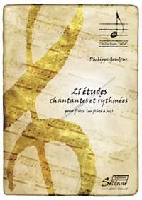 Ph. Goudour: 21 etudes Chantantes et Rythmees