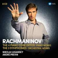 Rachmaninov: The Four Piano Concertos, Piano Works, Three Symphonies and Orchestral Works