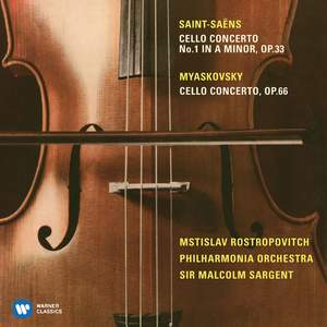 Saint-Saens: Cello Concerto No. 1 & Miaskovsky: Cello Concerto
