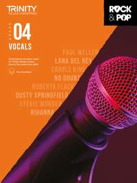 Trinity: Rock & Pop 2018 Vocals Grade 4