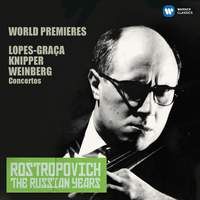 Lopes-Graça, Knipper & Weinberg: Cello Concertos (The Russian Years)