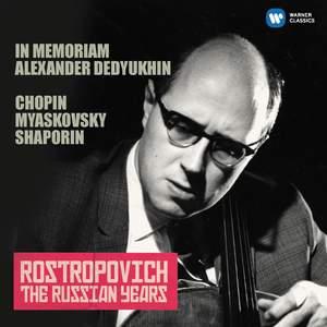 Chopin, Miaskovsky & Shaporin (The Russian Years)