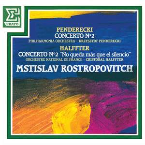 Penderecki: Cello Concerto No. 2 & Halffter: Cello Concerto No. 2