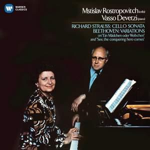 Beethoven: Cello Variations & Richard Strauss: Cello Sonata