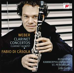 Weber: Concertos For Clarinet And Orchestra Product Image