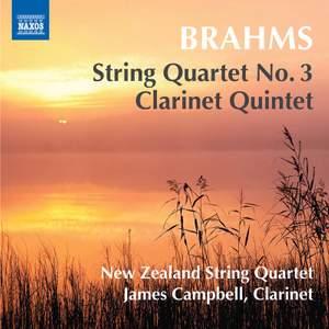 Brahms: String Quartet No. 3 & Clarinet Quintet
