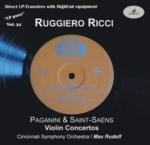 LP Pure, Vol. 34: Ricci Plays Paganini & Saint-Saëns