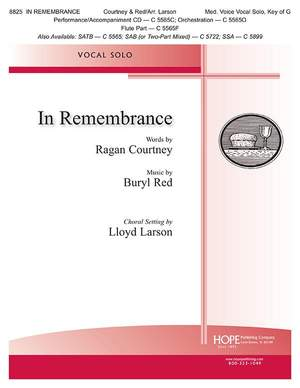 Ragan Courtney_Buryl Red: In Remembrance
