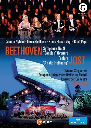 Beethoven: Symphony No. 9, Coriolan Overture & Jost: Fanfare & An die Hoffnung