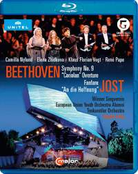 Beethoven: Symphony No. 9, Coriolan Overture & Jost: Fanfare & An die Hoffnung