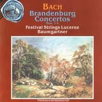 Bach: Brandenburg Concertos Vol. 1