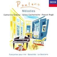 Poulenc: Mélodies Vol. 1