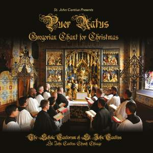 Puer natus: Gregorian Chant for Christmas