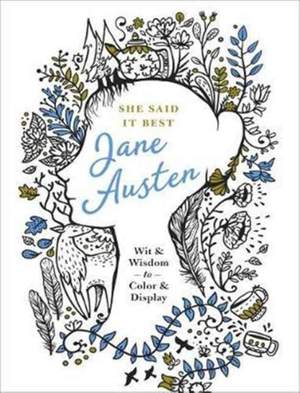 She Said it Best: Jane Austen Product Image