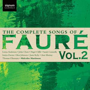 Fauré: The Complete Songs, Vol. 2 Product Image