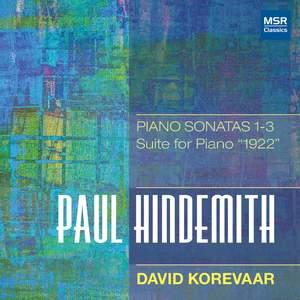 Hindemith: Piano Sonatas Nos. 1-3; Suite for Piano '1922'