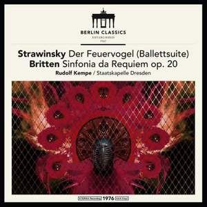 Stravinsky: The Firebird & Britten: Sinfonia da Requiem - Vinyl Edition