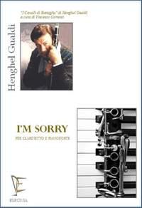 Henghel Gualdi: I`m sorry