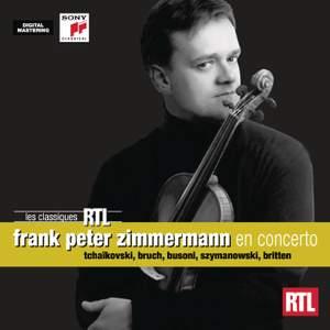 Frank Peter Zimmermann plays Violin Concertos
