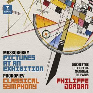 """Mussorgsky: Pictures at an Exhibition - Prokofiev: Symphony No. 1, """"Classical"""""""