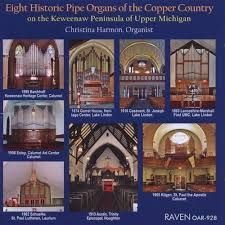 Eight Historic Pipe Organs of the Copper Country