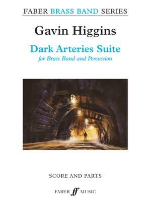 Higgins, Gavin: Dark Arteries Suite (brass band sc&pts)