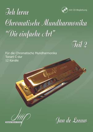 Jan de Leeuw: Ich Lerne Chromatische Mundharmonika II