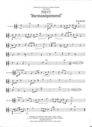 Eric Hulin: 10 Études Pour Cor Naturel