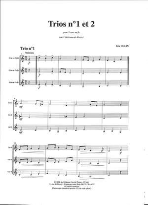 Eric Hulin: 2 Trios