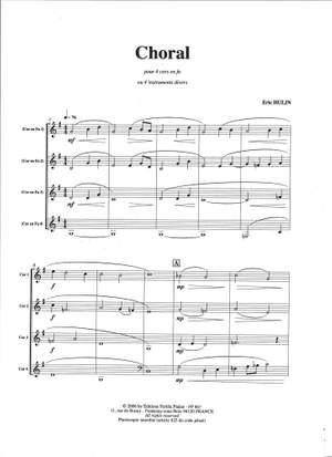 Eric Hulin: Choral