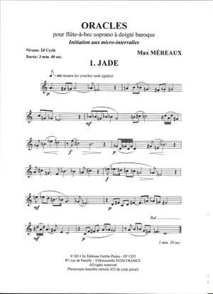 Max Mereaux: Oracles