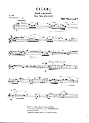 Max Mereaux: Elegie
