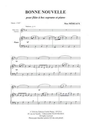 Max Mereaux: Bonne Nouvelle