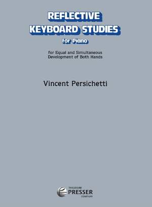 Vincent Persichetti: Reflective Keyboard Studies for Piano Product Image