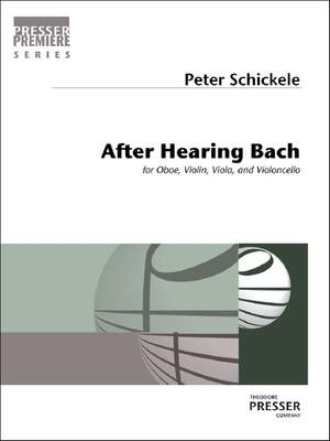 Peter Schickele: After Hearing Bach Product Image
