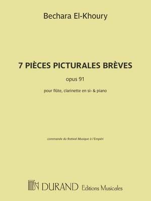 Bechara El-Khoury: 7 Pièces picturales brèves, opus 91
