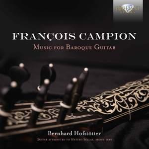 Campion: Music For Baroque Guitar
