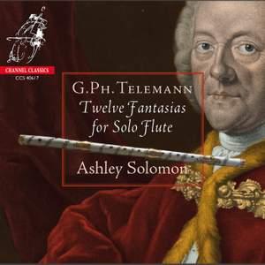 Telemann: Twelve Fantastias for Solo Flute