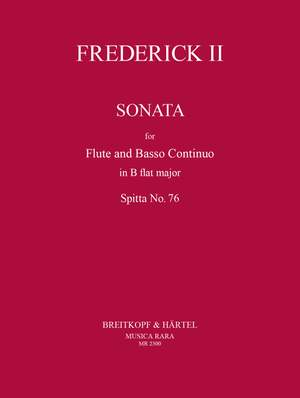 Friedrich II. der Große: Sonata in Bb Major Spitta No. 76
