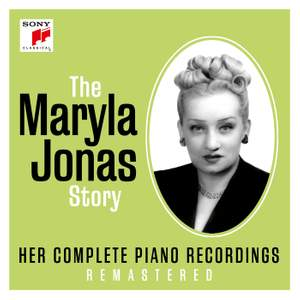 The Maryla Jonas Story - Her Complete Piano Recordings Product Image