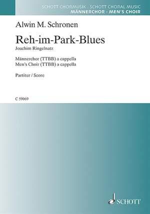 Schronen, A M: Reh-im-Park-Blues