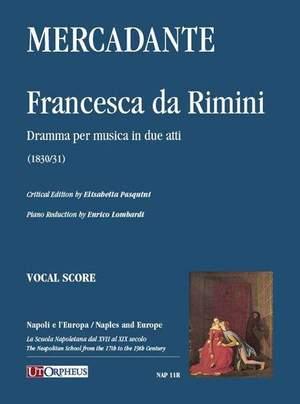 Mercadante, S: Francesca da Rimini