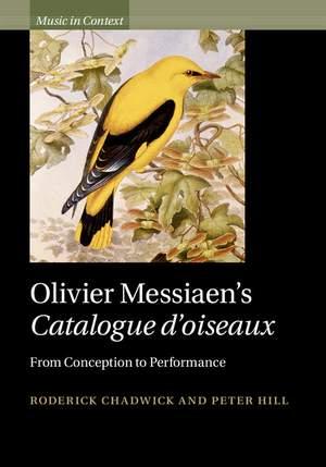 Olivier Messiaen's  Catalogue d'oiseaux