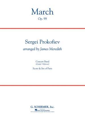 Sergei Prokofiev: March, Op. 99